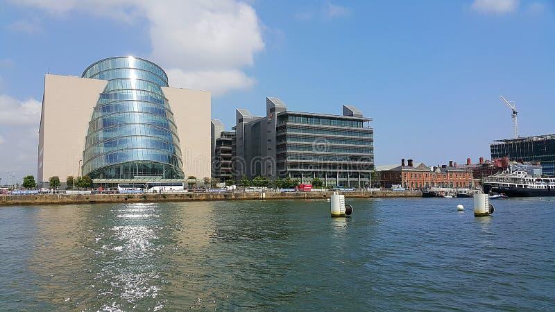 Rio Liffey em Dublin fotos de stock royalty free