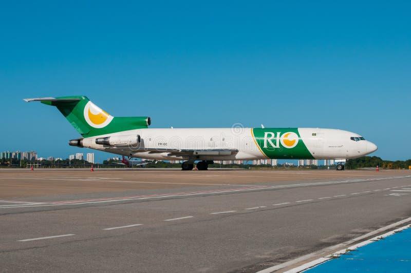RIO Linhas Aereas 727 fotografia stock libera da diritti