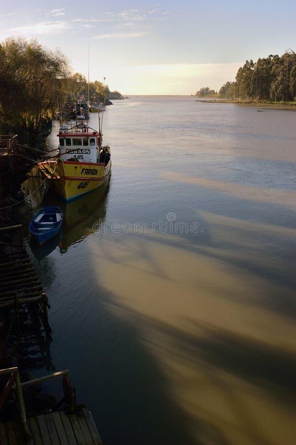 Rio Maule, Chile imágenes de archivo libres de regalías