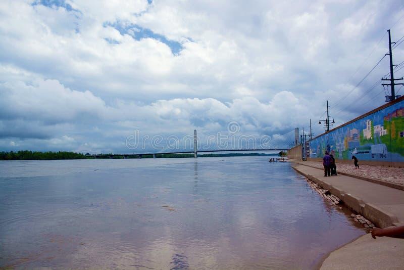 Rio Mississípi foto de stock