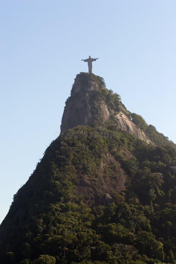 Rio, montagna di Corcovado fotografie stock