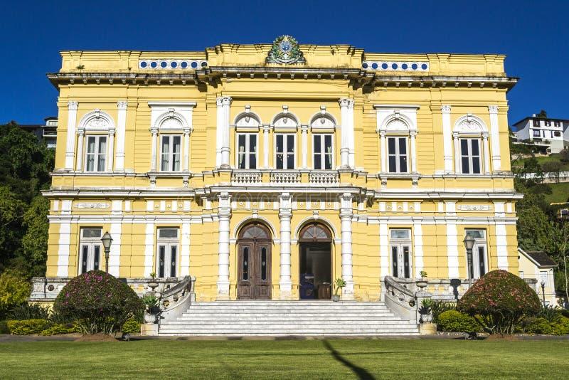 Rio Negro Palace - das offizielle Ferienhaus der Brasilien-Präsidenten lizenzfreie stockfotos