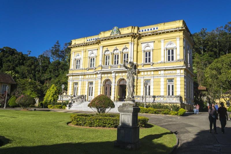 Rio Negro Palace - la residencia oficial del verano de los presidentes del Brasil imagen de archivo