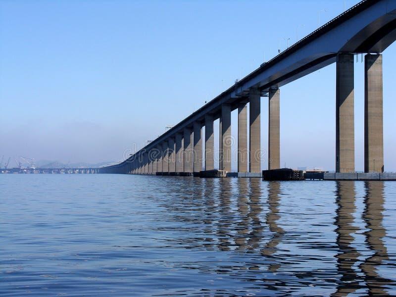 Rio-Niteroi bridge royalty free stock photography