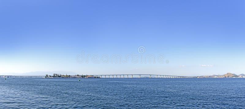 Rio Niteroi most obrazy stock