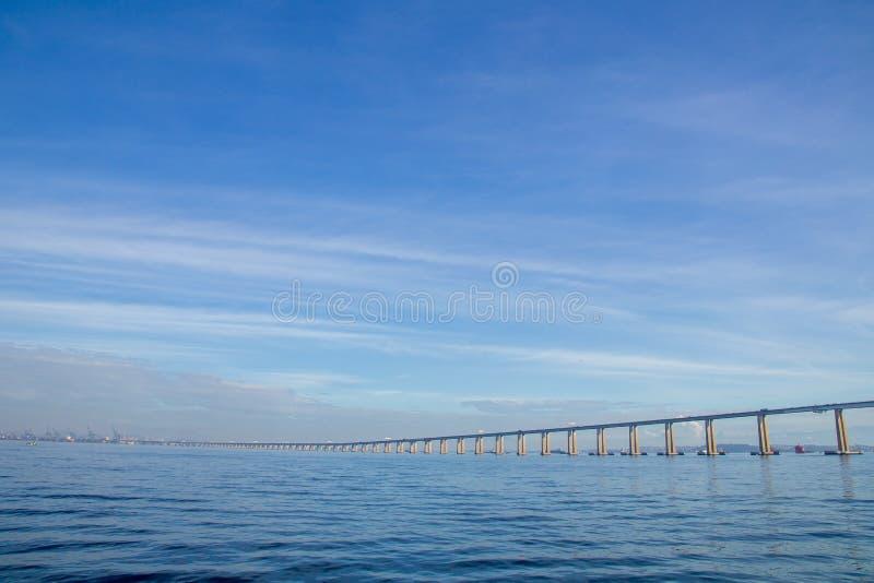 Rio Niteroi most, Rio De Janeiro obrazy stock