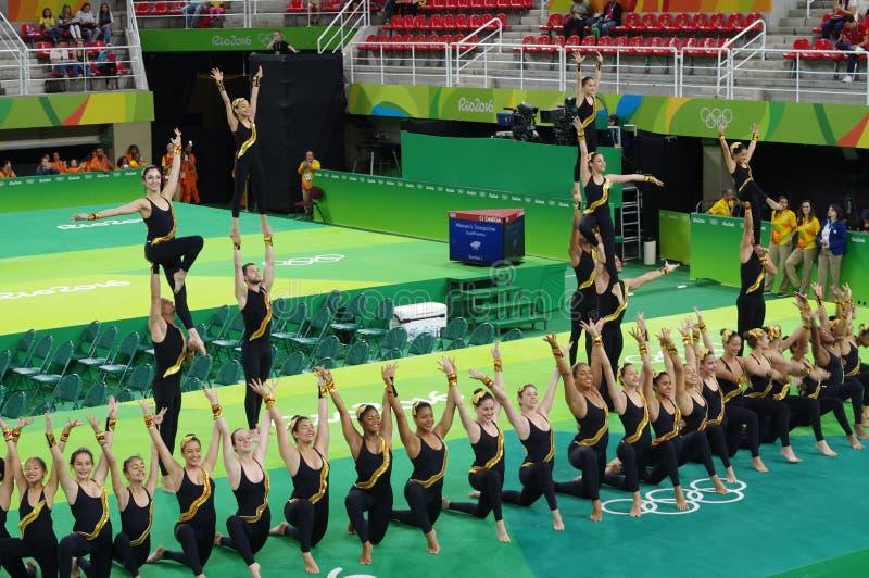 Rio Olympic Arena fotografie stock libere da diritti