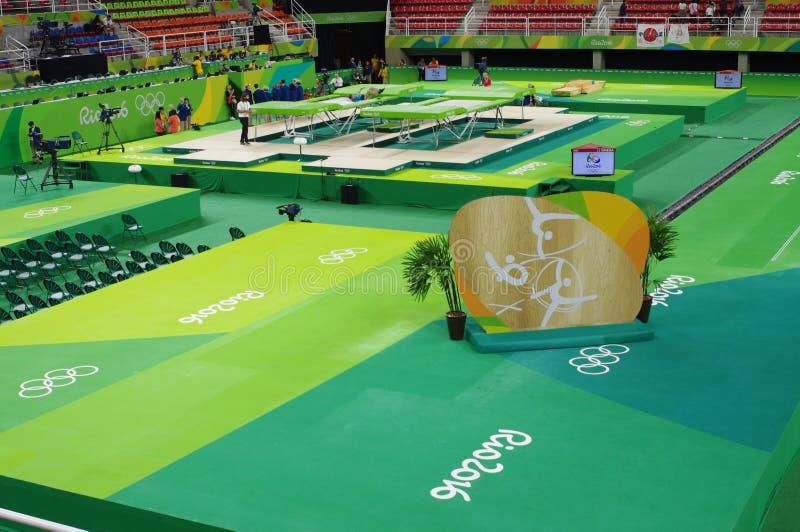 Rio Olympic Arena immagine stock