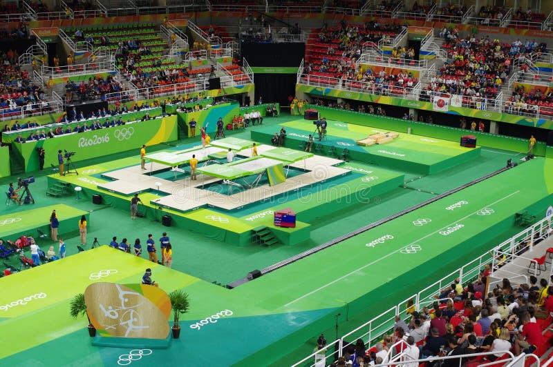 Rio Olympic Arena fotografia stock libera da diritti