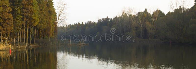 Rio quieto de Qingshui, outono quieto imagens de stock royalty free
