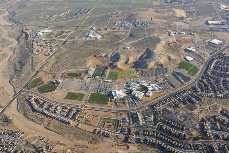 Rio Rancho szkoła średnia zdjęcia stock