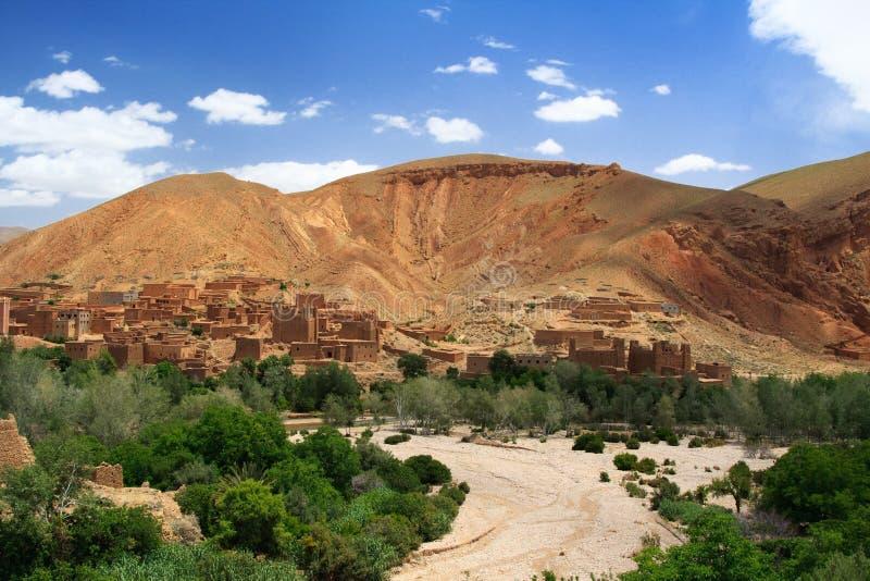 Rio secado em Marrocos fotos de stock royalty free