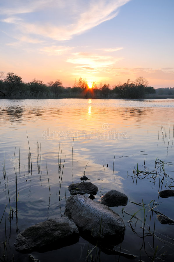 Rio Shannon imagem de stock royalty free
