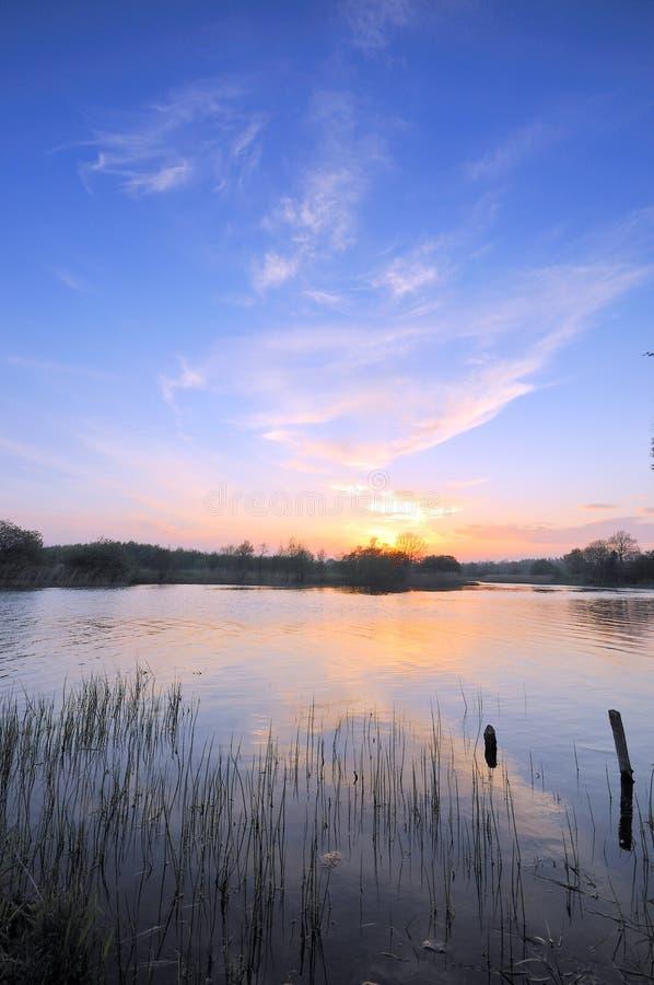 Rio Shannon foto de stock