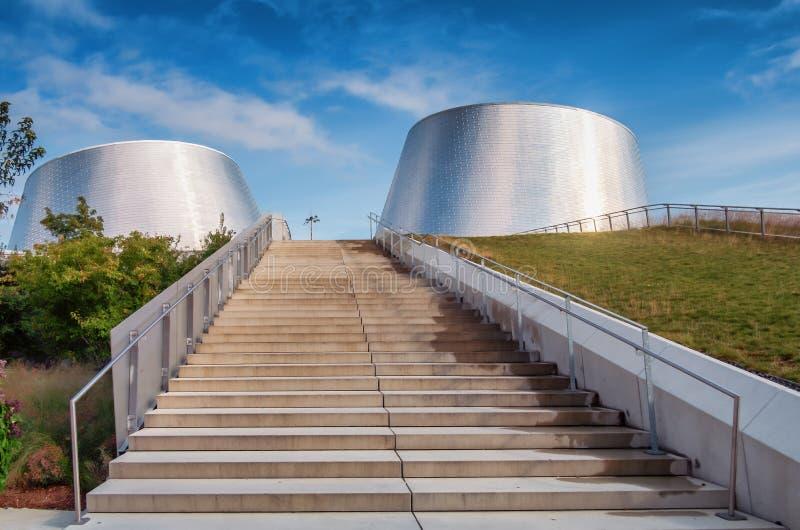 Rio Tinto Alcan Planetarium stockfotos