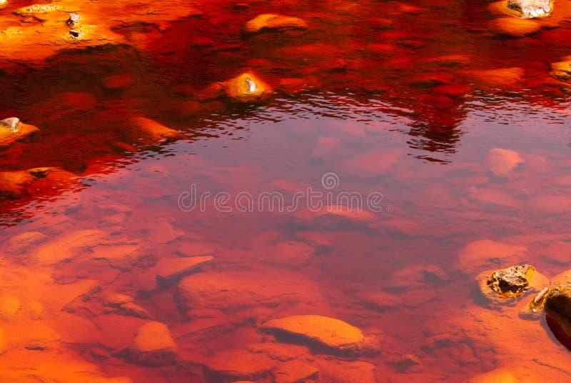 Rio Tinto (Red River) fotos de archivo libres de regalías