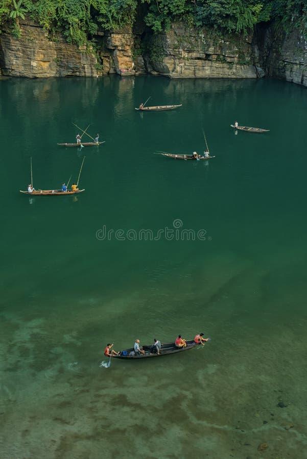 Rio transparente de Umngot imagens de stock royalty free