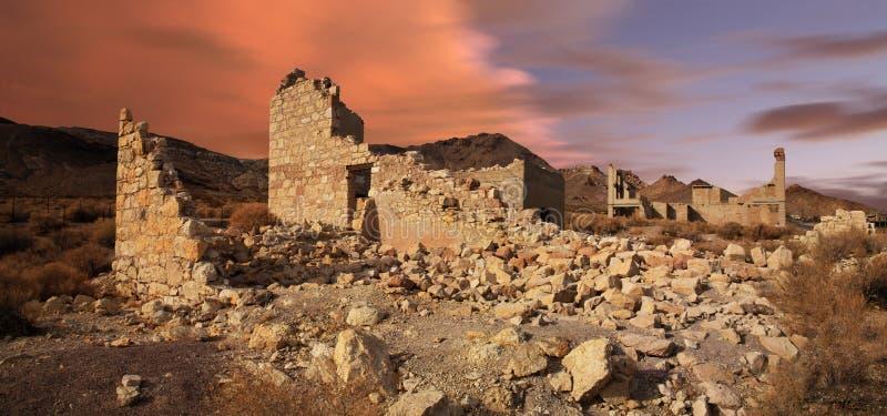 Riolite Nevada immagini stock libere da diritti