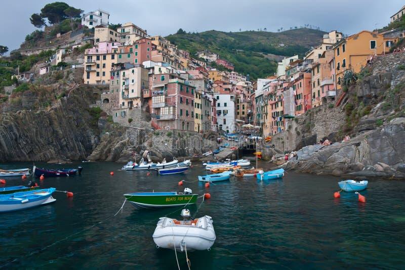 Download Riomaggiore stock image. Image of mediterranean, ancient - 25681511