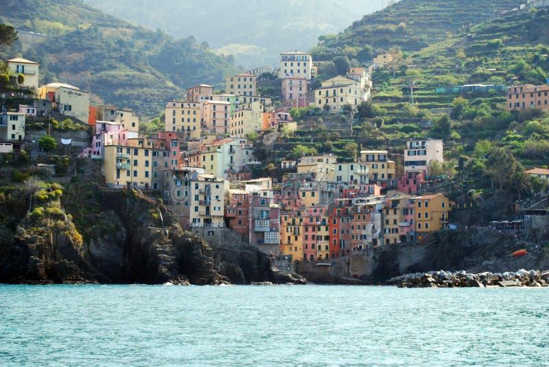 Riomaggiore-Cinque Terre fotos de archivo libres de regalías