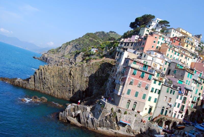 Riomaggiore-Cinque Terre images libres de droits