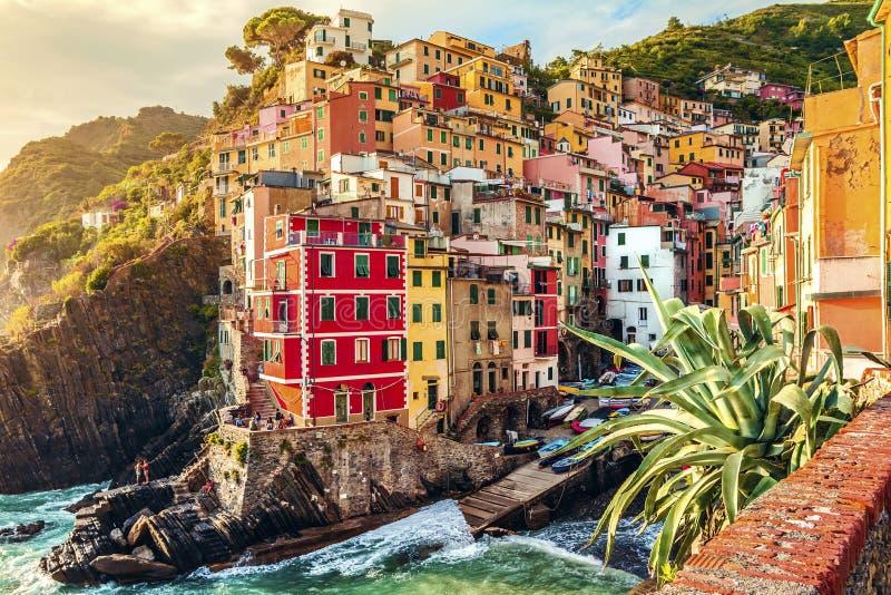 Riomaggiore, Cinque Terre, Italy imagem de stock royalty free
