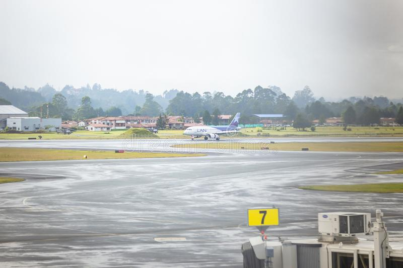 Rionegro, Antioquia / Colombia. August 03, 2018. The José María Córdova International Airport is a Colombian airport located in. José María Có royalty free stock photo