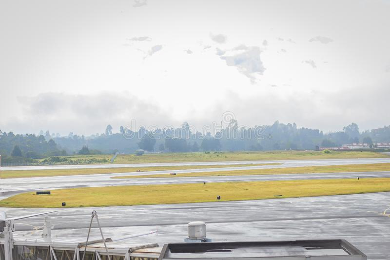 Rionegro, Antioquia / Colombia. August 03, 2018. The José María Córdova International Airport is a Colombian airport located in. José María Có stock image