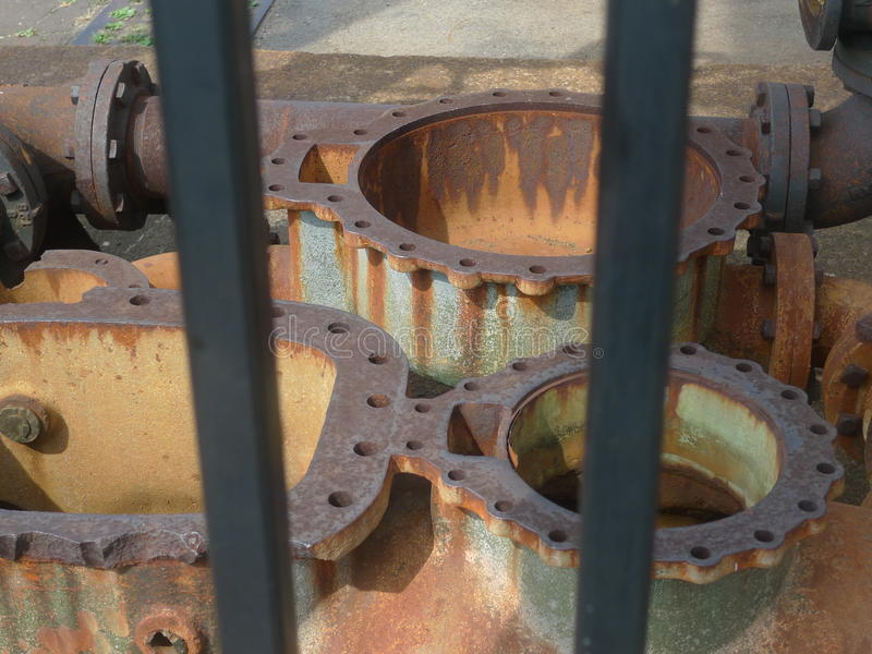 Riool en drainagesystemen royalty-vrije stock foto