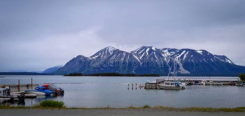 Rios, lagos e oceanos de Alaska & de Canadá fotografia de stock royalty free