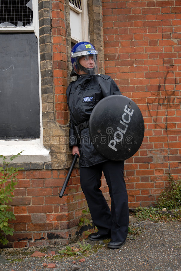 Free Riot Cop Royalty Free Stock Photography - 3202347