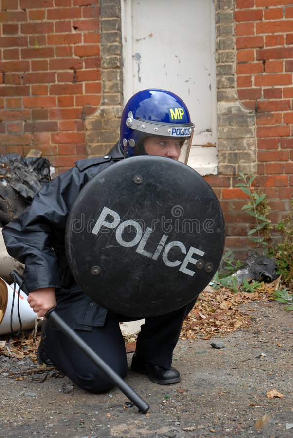 Free Riot Cop Stock Images - 3202374