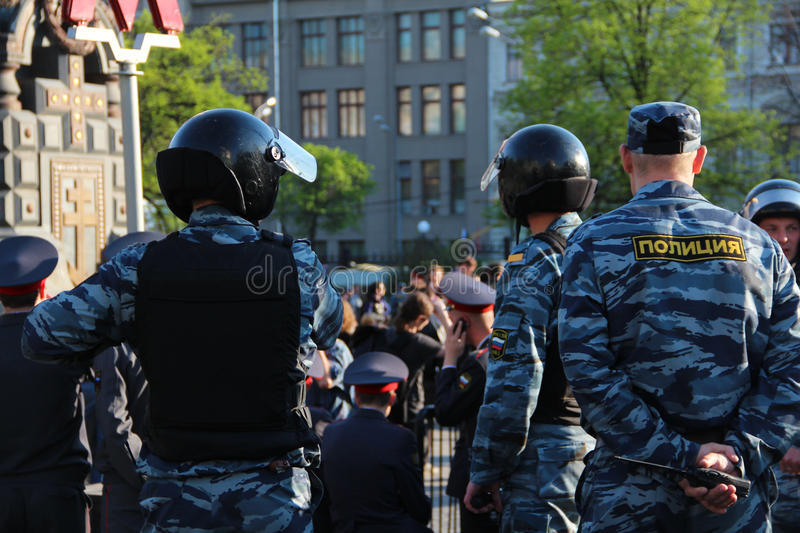 Download Riot Police editorial stock image. Image of monument - 24703444
