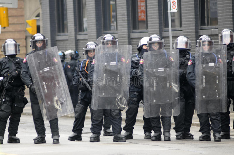Download Riot police officers. editorial stock photo. Image of helmet - 26745693