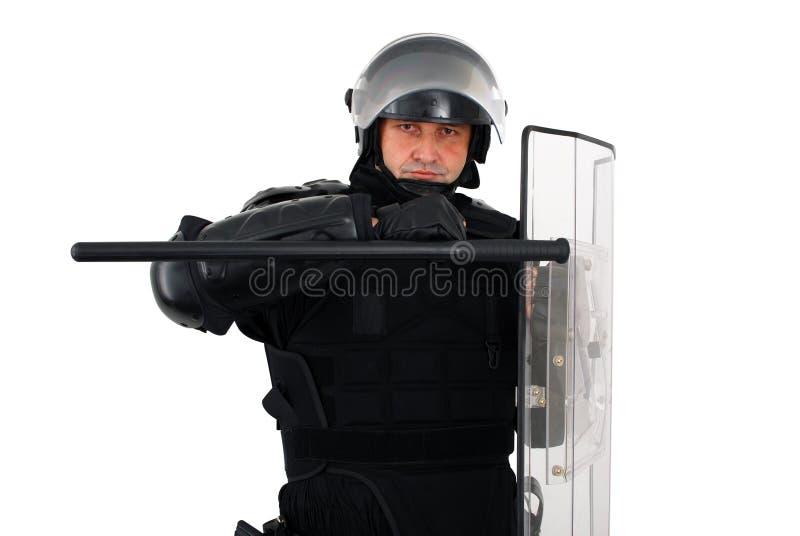 Download Riot policeman stock image. Image of helmet, vest, uniform - 11864517