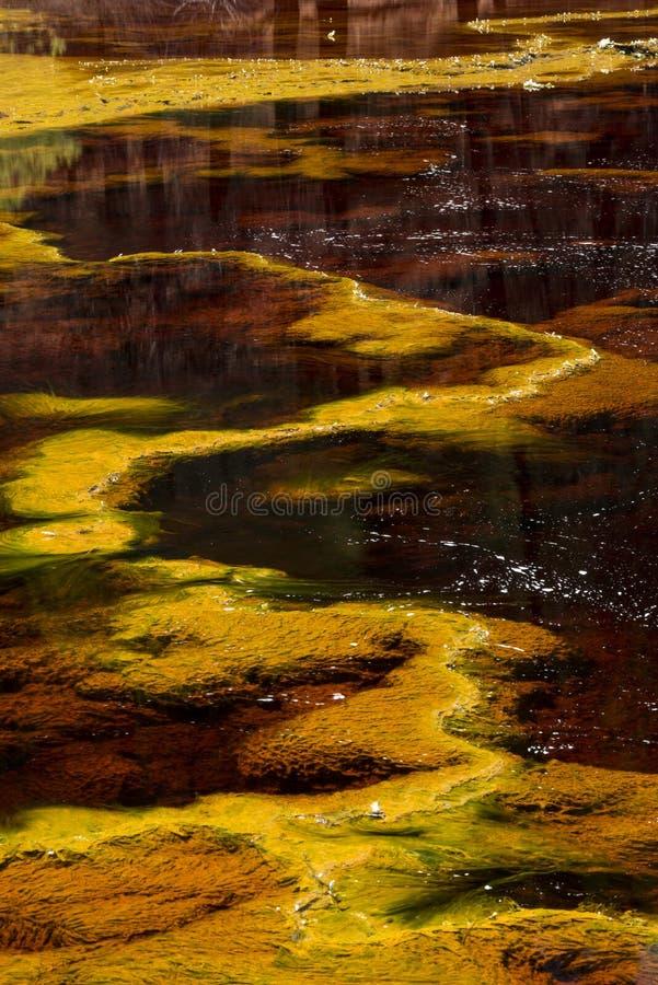 Riotinto kopalnie w Hiszpania zdjęcie royalty free