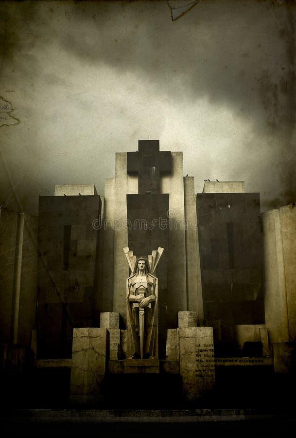 Download Rip stock photo. Image of cemetery, cross, angel, dark - 8899236