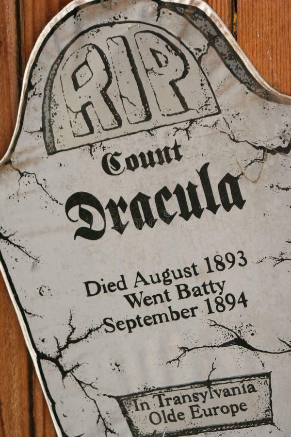 RIP Count Dracula