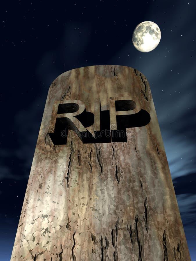 Download RIP Graves 9 stock illustration. Illustration of dead, dark - 616187