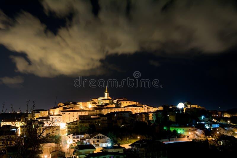 Ripa Teatina em Abruzzo foto de stock