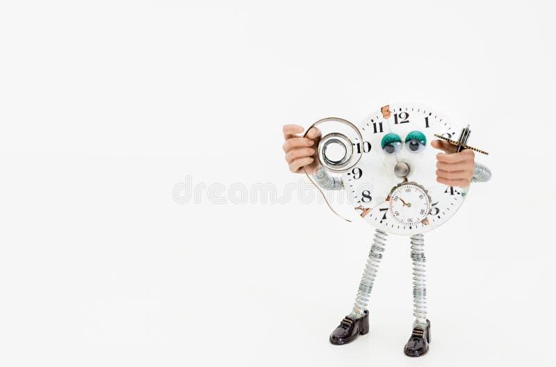 Riparazione e ripristino degli orologi immagini stock