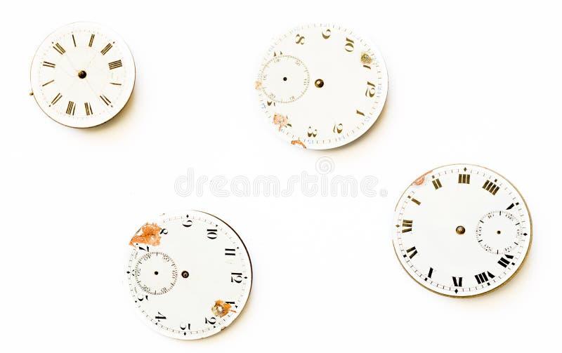 Riparazione e ripristino degli orologi fotografia stock