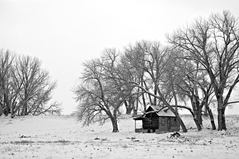 Riparo di inverno fotografie stock