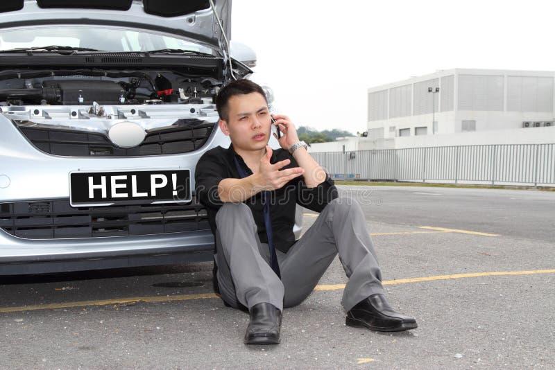 Ripartizione dell'automobile immagine stock libera da diritti