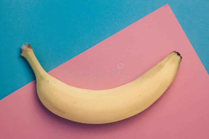 Ripe Banana Fruit stock photo