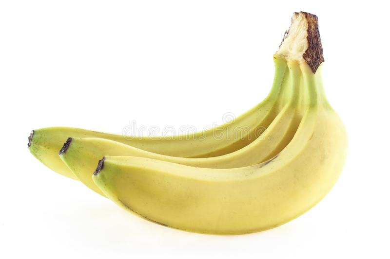 Ripe bananas in the peel royalty free stock photos