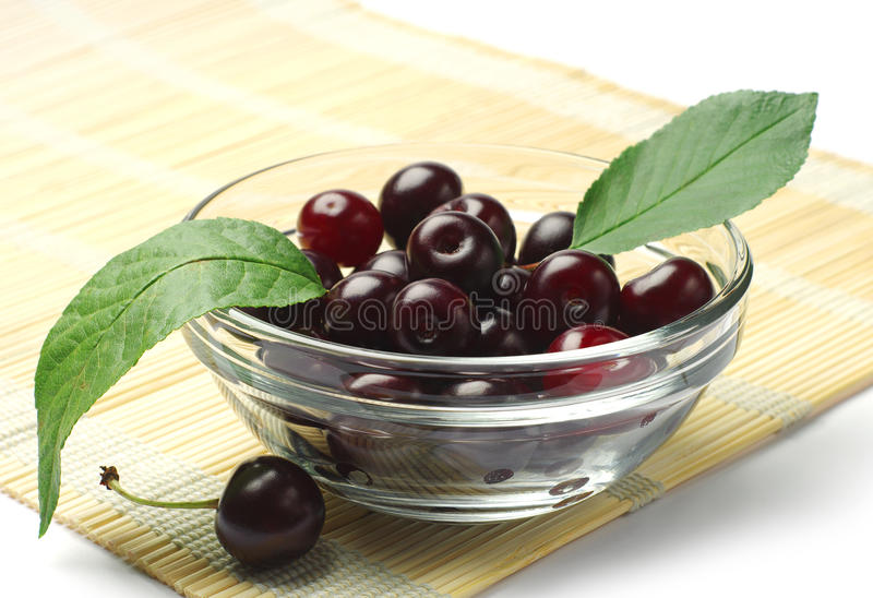 Download Ripe cherry berries stock photo. Image of cherry, green - 25654746