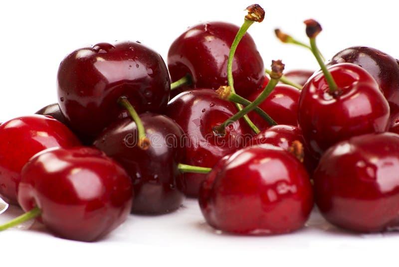 Ripe cherry stock photo