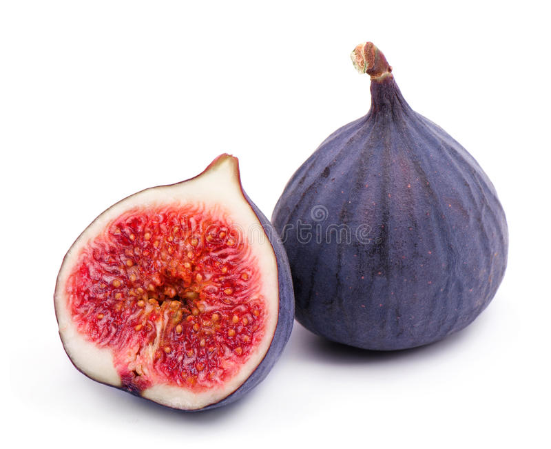 Ripe fig. stock photography