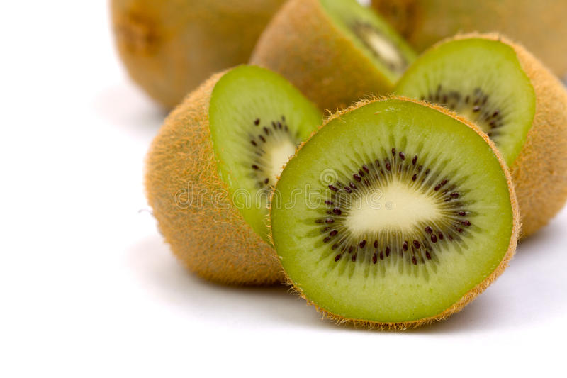 Ripe kiwifruit stock photos